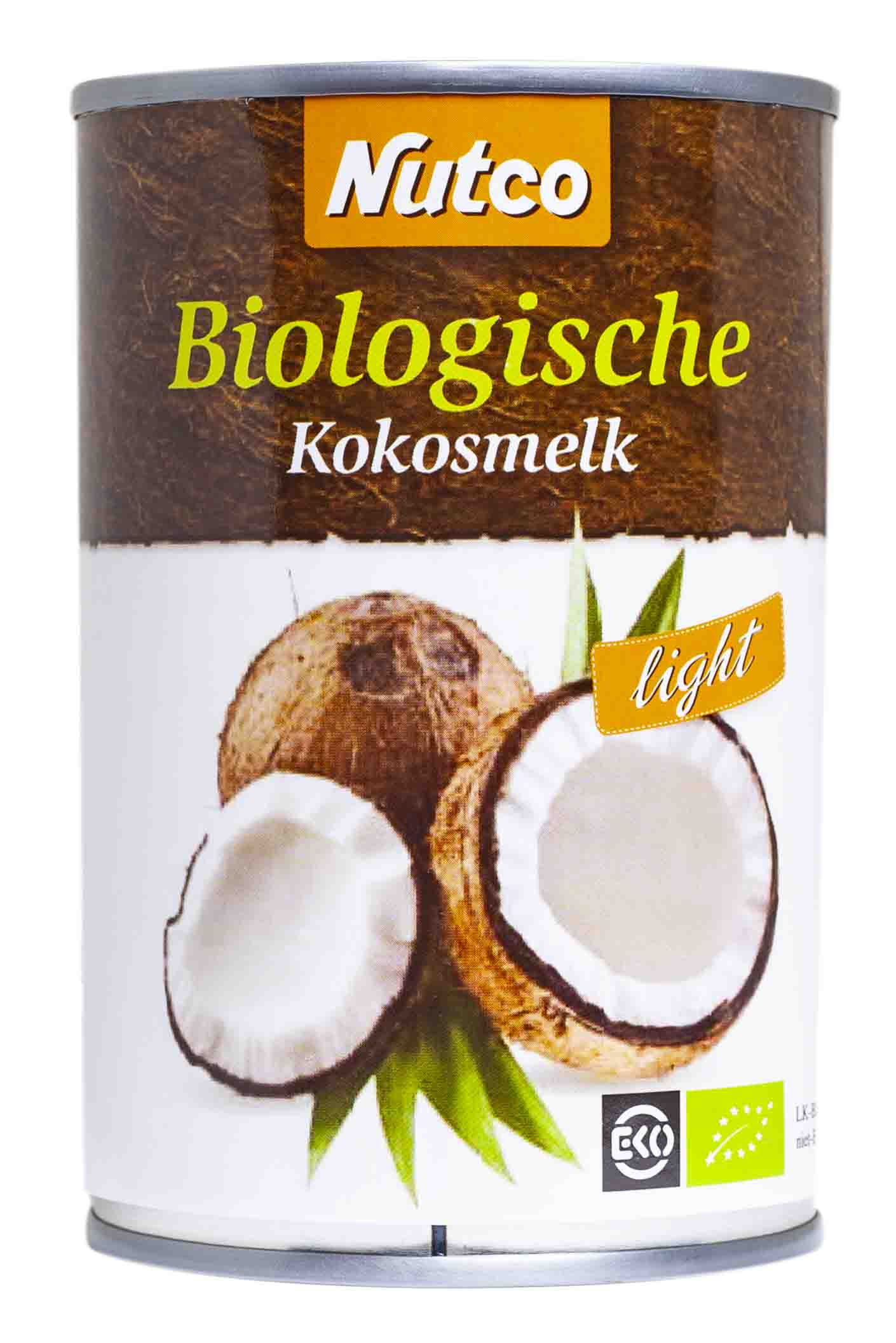 Nutco bio cocosmelk 400ml