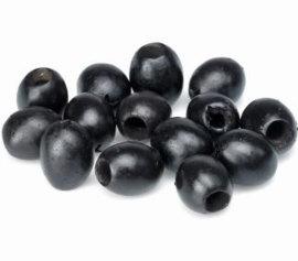 Zwart olijven