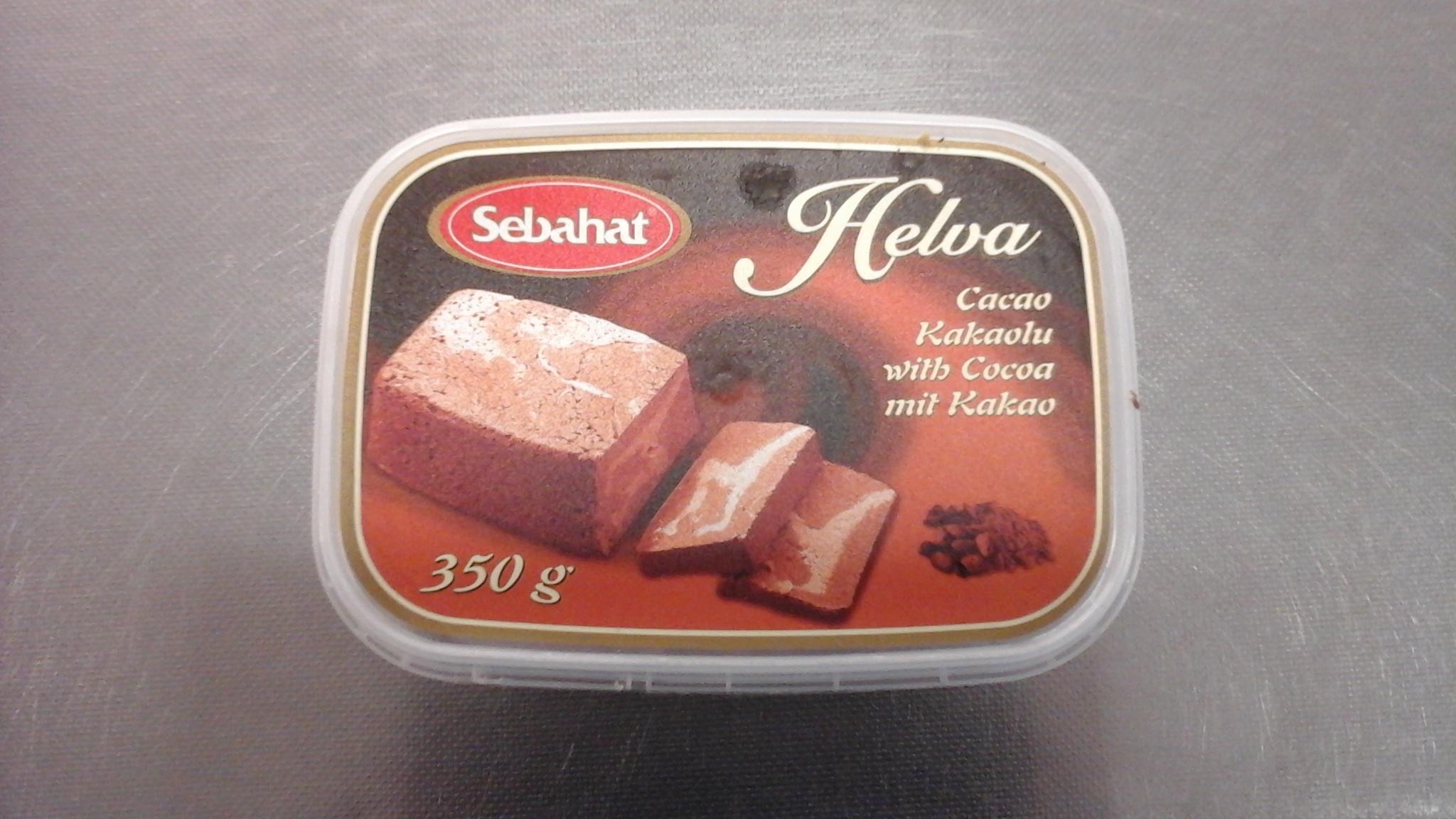 Helva met cacao