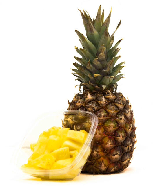Fruitsalade Ananas