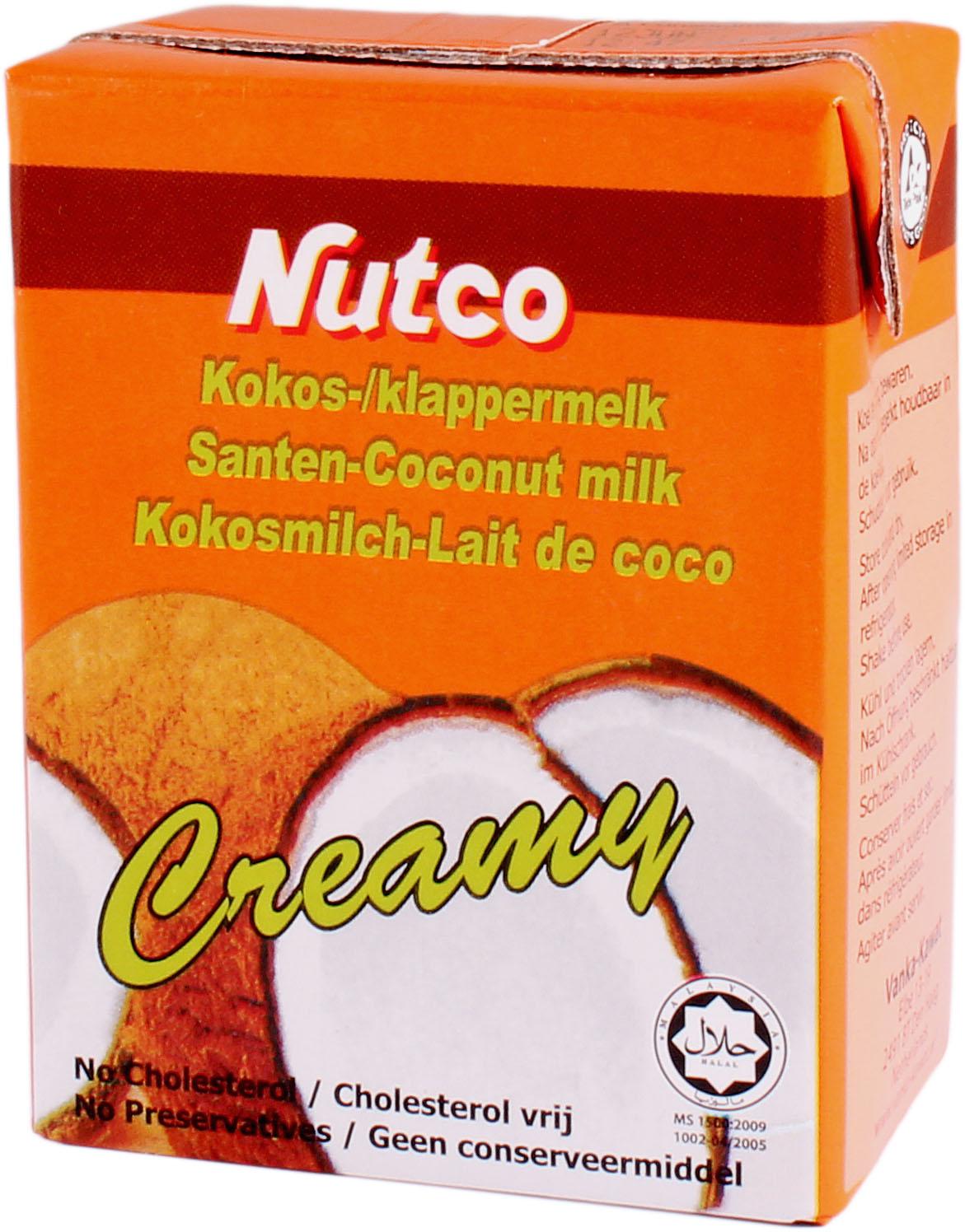 Nutco cocosmelk 200ml