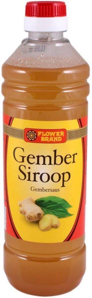 Gember siroop 500ml