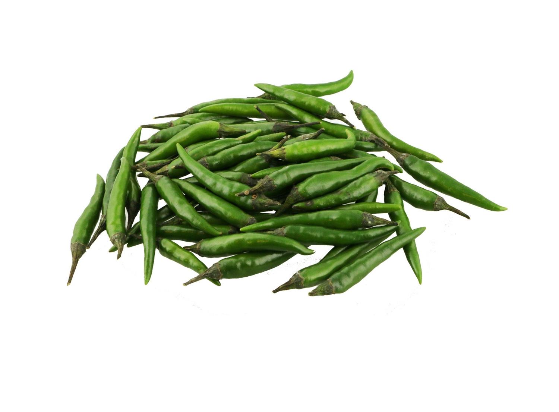 Peper rawit groen